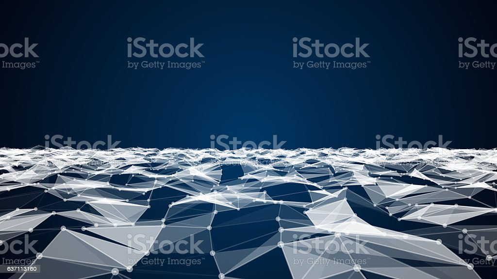 Abstract technology and science background stock photo