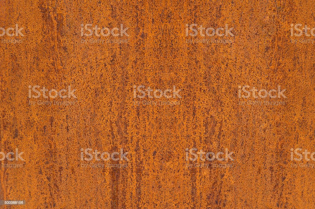 Abstract texture of a rusty metal plate stock photo