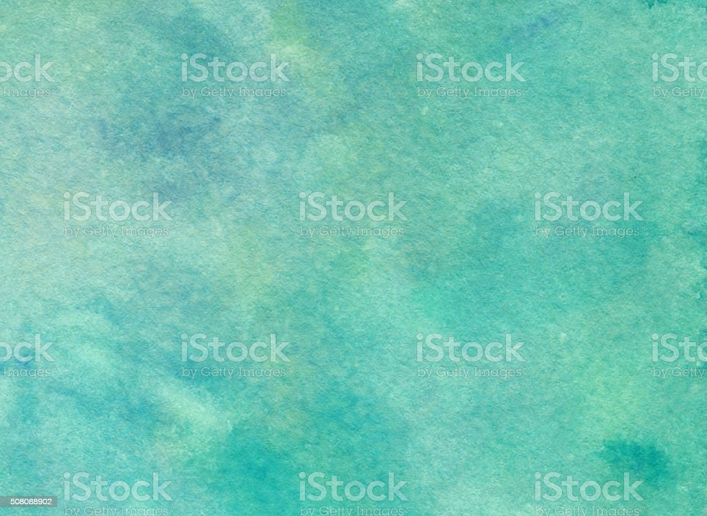 Abstract textured background hand painted with watercolor and ink stock photo