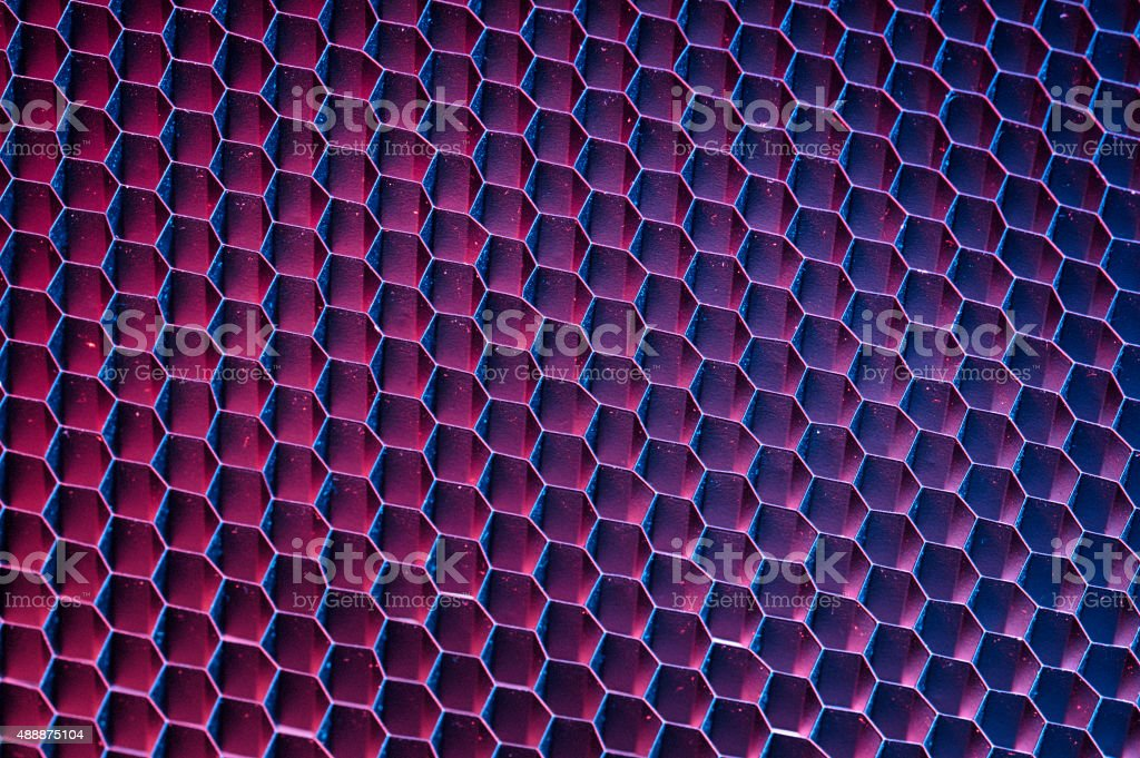 Abstract textured background of honeycomb mesh grid stock photo