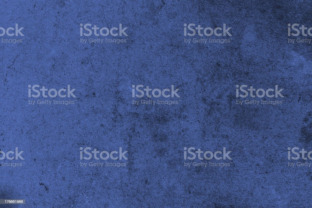 Abstract  textured grunge background in dark blue royalty-free stock photo