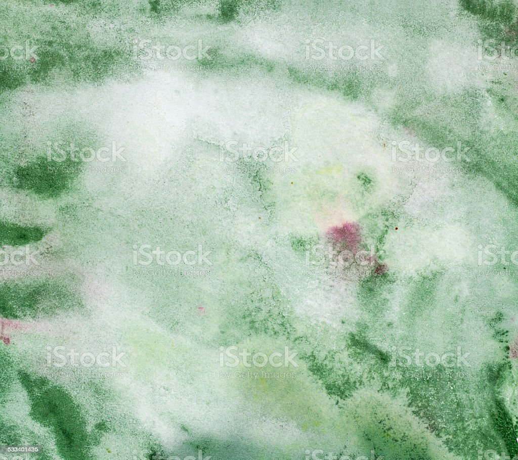 Abstract textured watercolor on paper stock photo