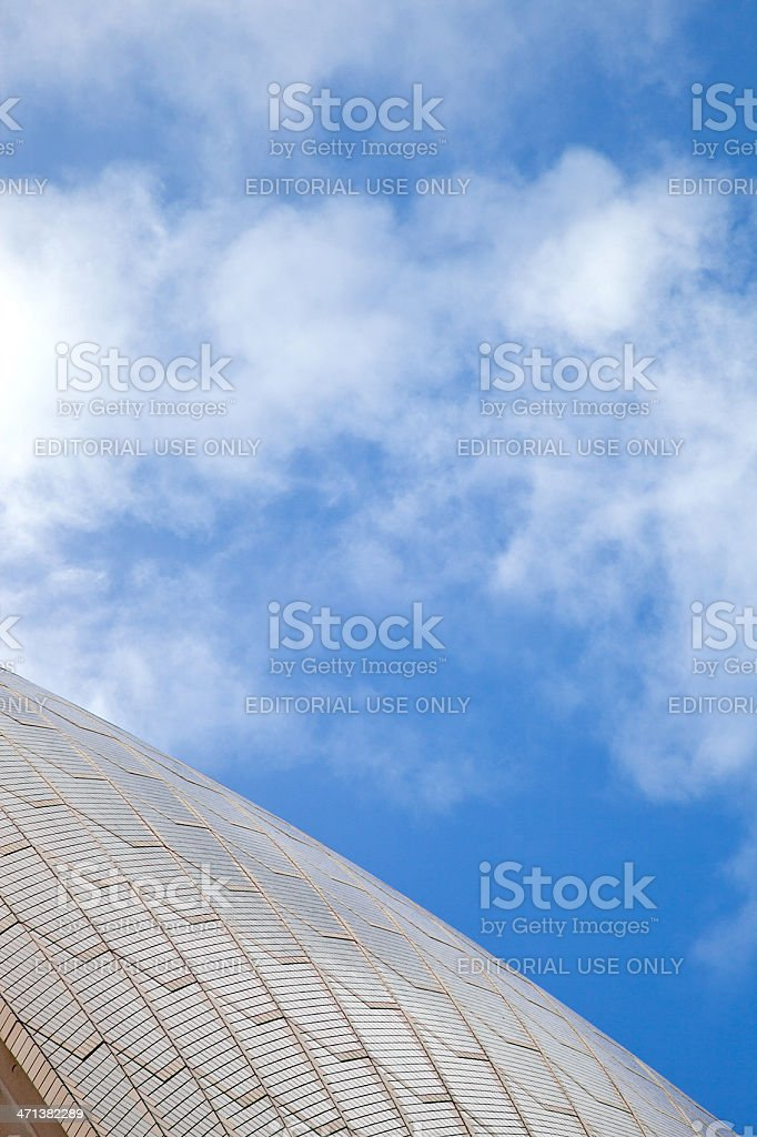 Abstract tiles in Sydney royalty-free stock photo