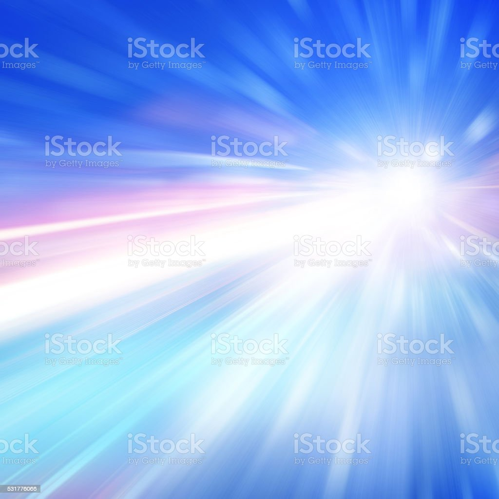 Abstract toned image of speed motion. stock photo