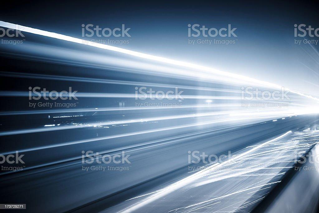 abstract traffic night stock photo