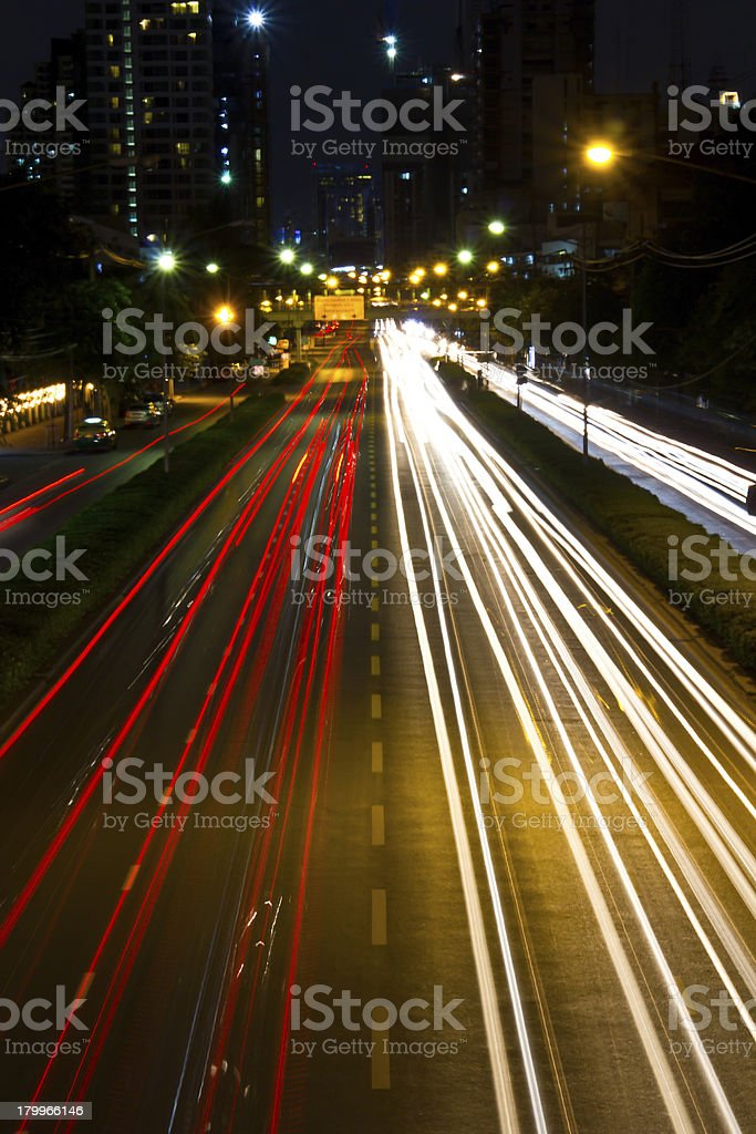 Abstract traffic royalty-free stock photo
