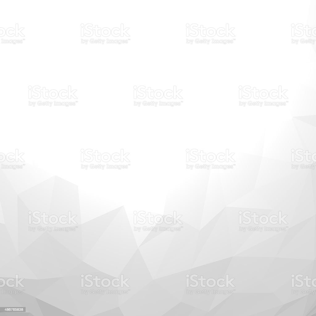 Abstract triangles background. stock photo