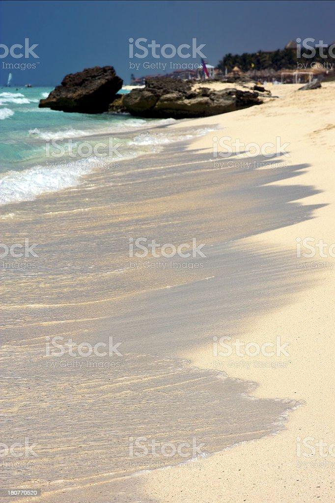 abstract tropical lagoon hill navigable royalty-free stock photo