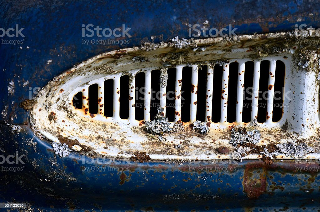 Abstract Truck Grill stock photo