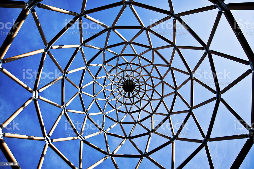 Abstract Tubular Structure royalty-free stock photo