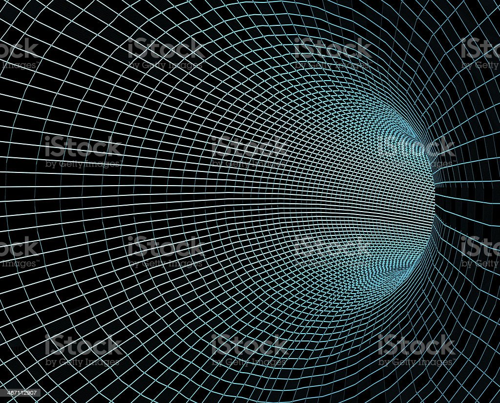 abstract tunnel royalty-free stock photo