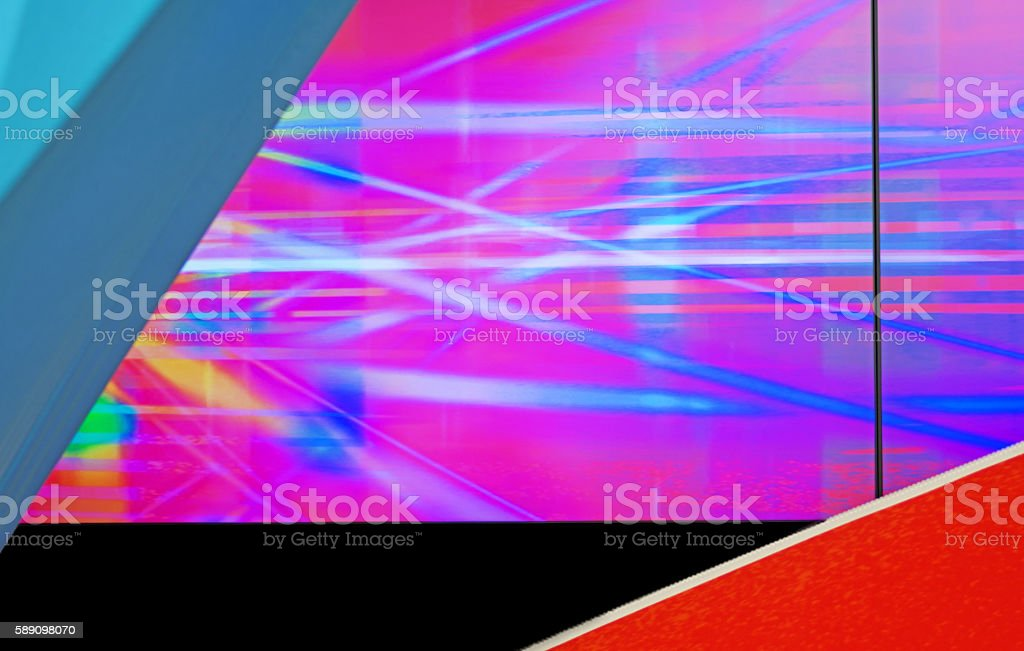 Abstract TV Screen stock photo