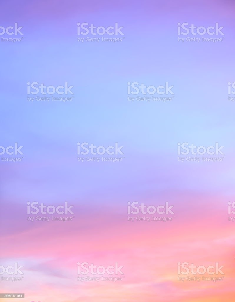 Abstract twilight sky background stock photo
