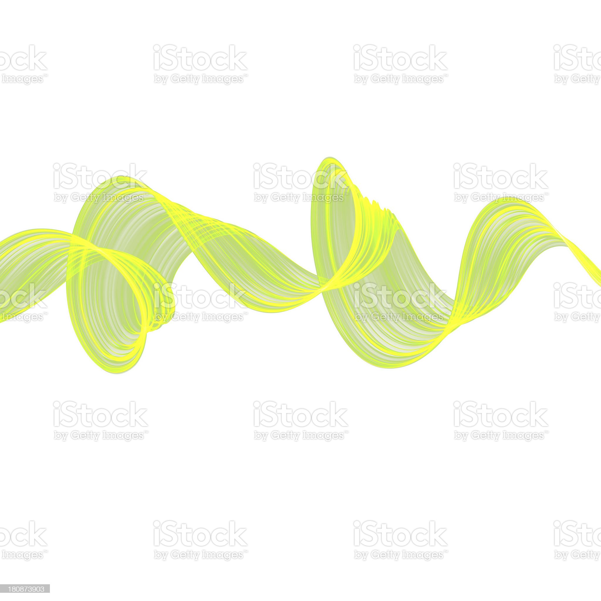 abstract twisted waves royalty-free stock photo