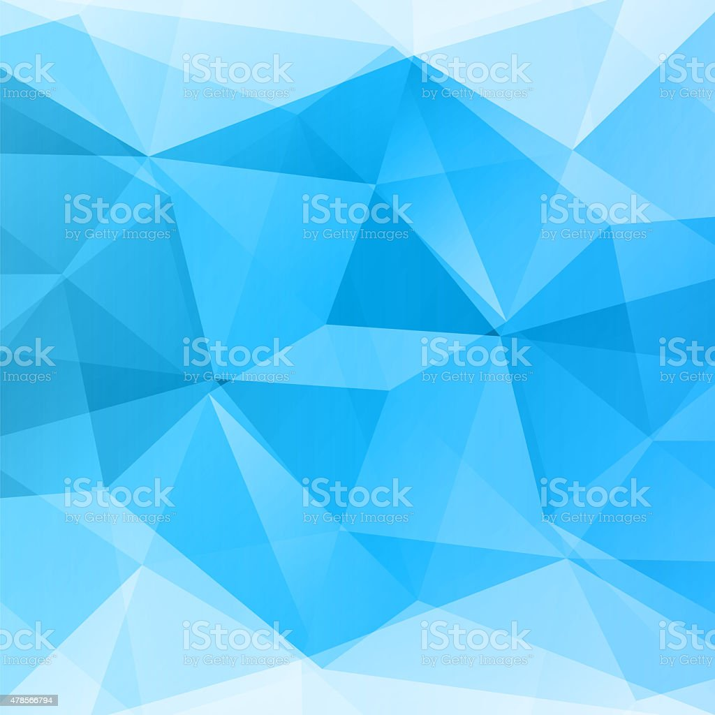 Abstract vector blue background stock photo