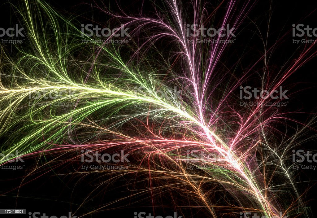 Abstract Veins royalty-free stock photo