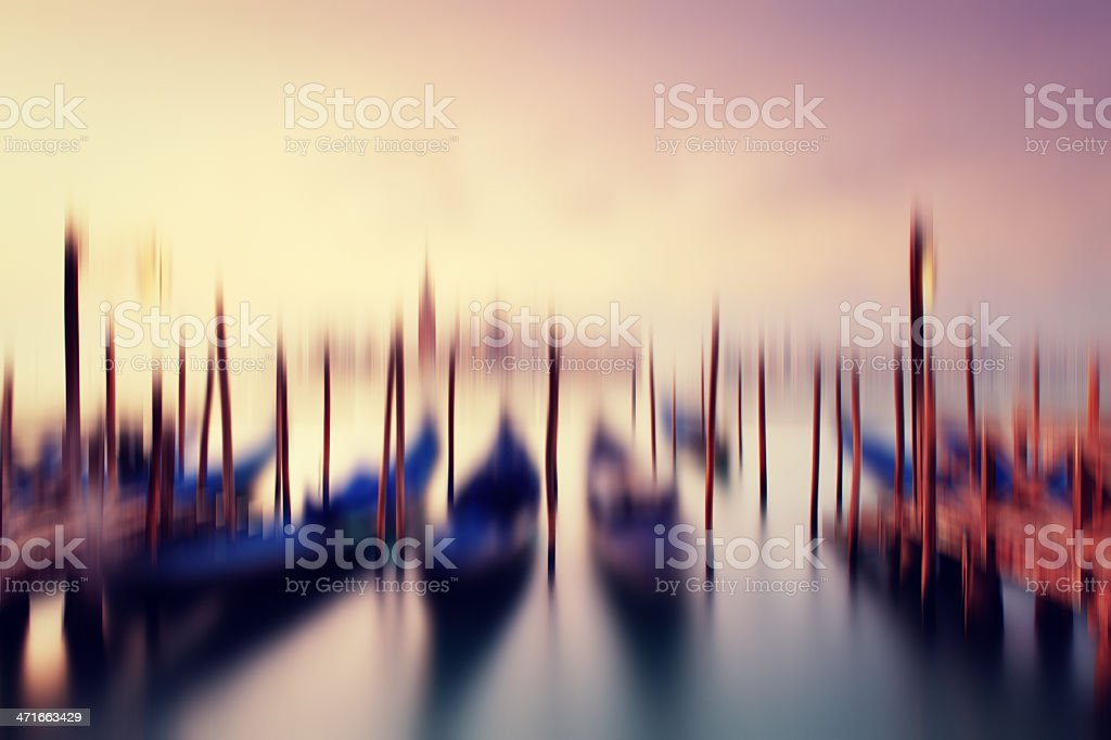 abstract venice royalty-free stock photo