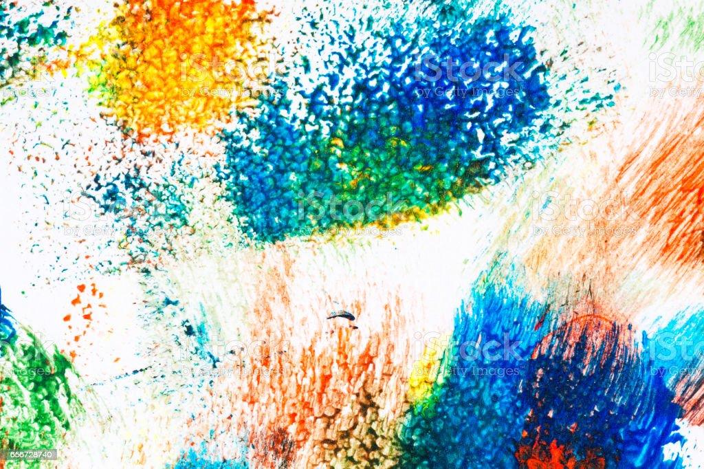 Abstract vibrant acrylic art background stock photo