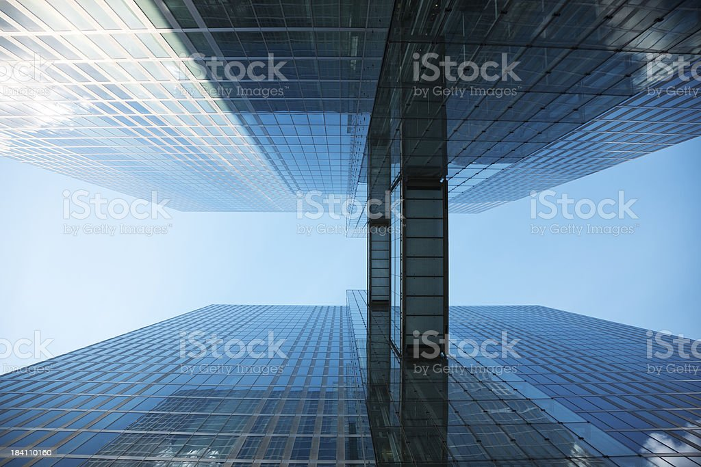 Abstract View of a Modern Architecture royalty-free stock photo