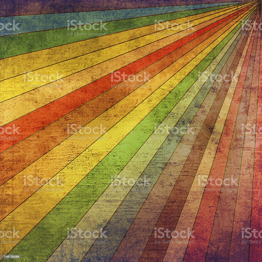 Abstract vintage background in rainbow colors royalty-free stock photo