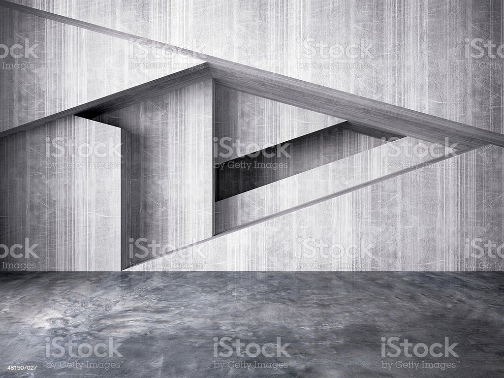 abstract wall of interior background stock photo