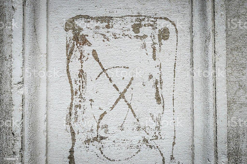 Abstract wall texture royalty-free stock photo