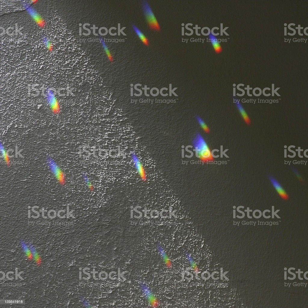 Abstract - wall with rainbows stock photo