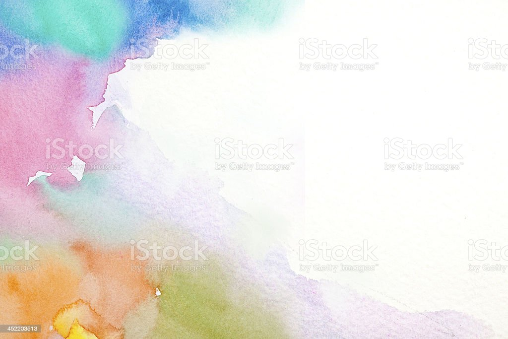 Abstract water color painting  stock photo