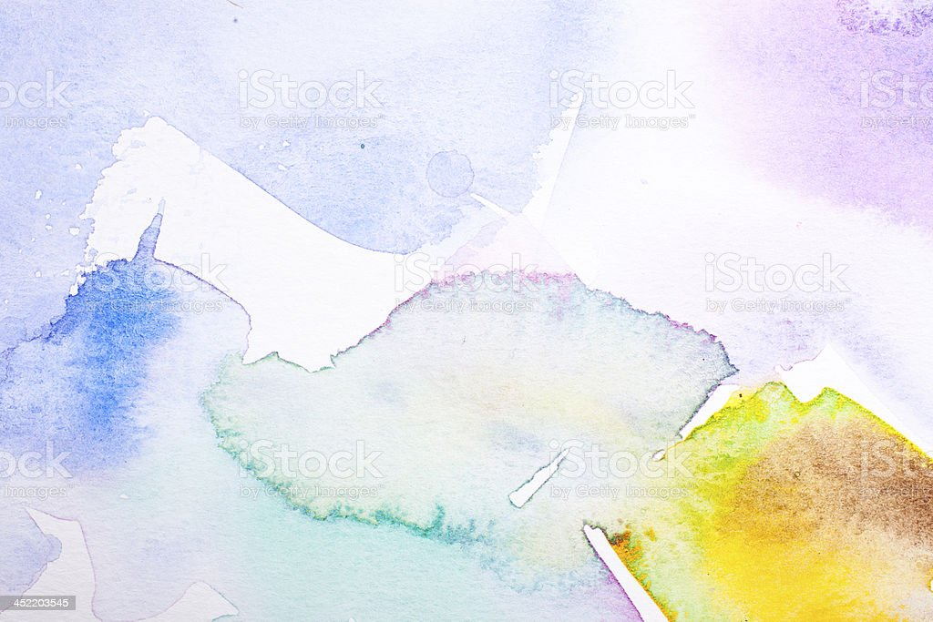 Abstract Water Color stock photo