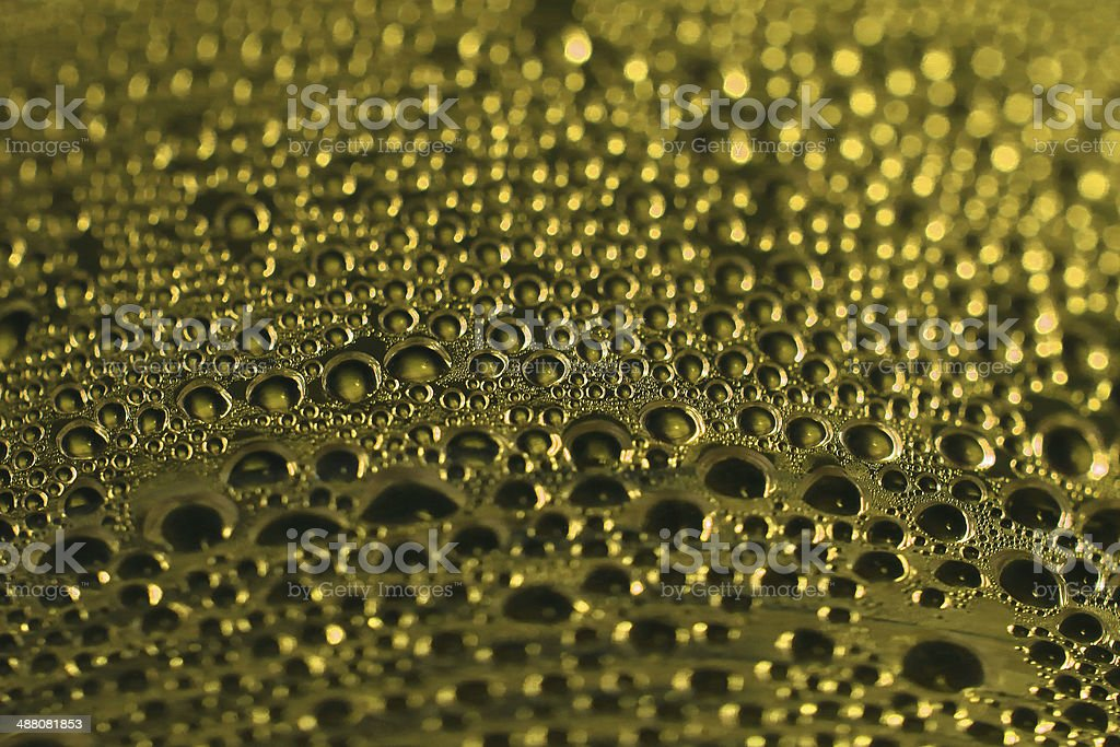 abstract water gold blackground royalty-free stock photo