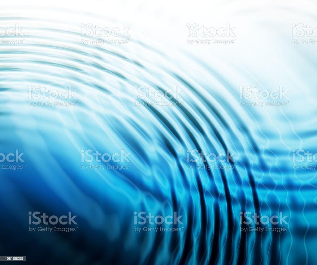 abstract water ripples background vector art illustration