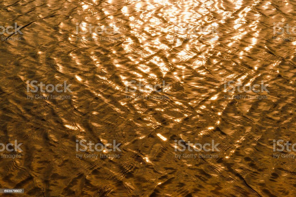 Abstract water surface. The sea and the waves. stock photo
