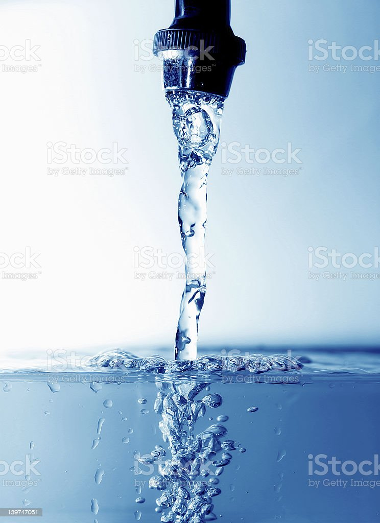 abstract water world royalty-free stock photo