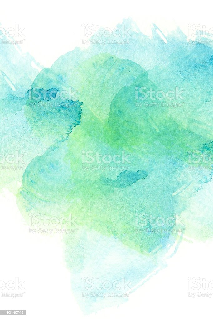 Abstract watercolor background. vector art illustration