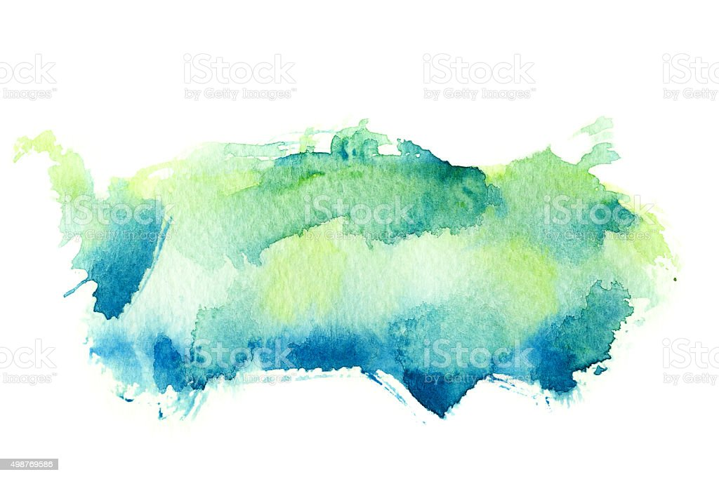 Abstract watercolor background. stock photo