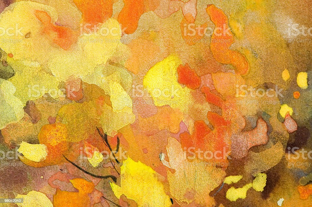 Abstract Watercolor Background royalty-free stock photo