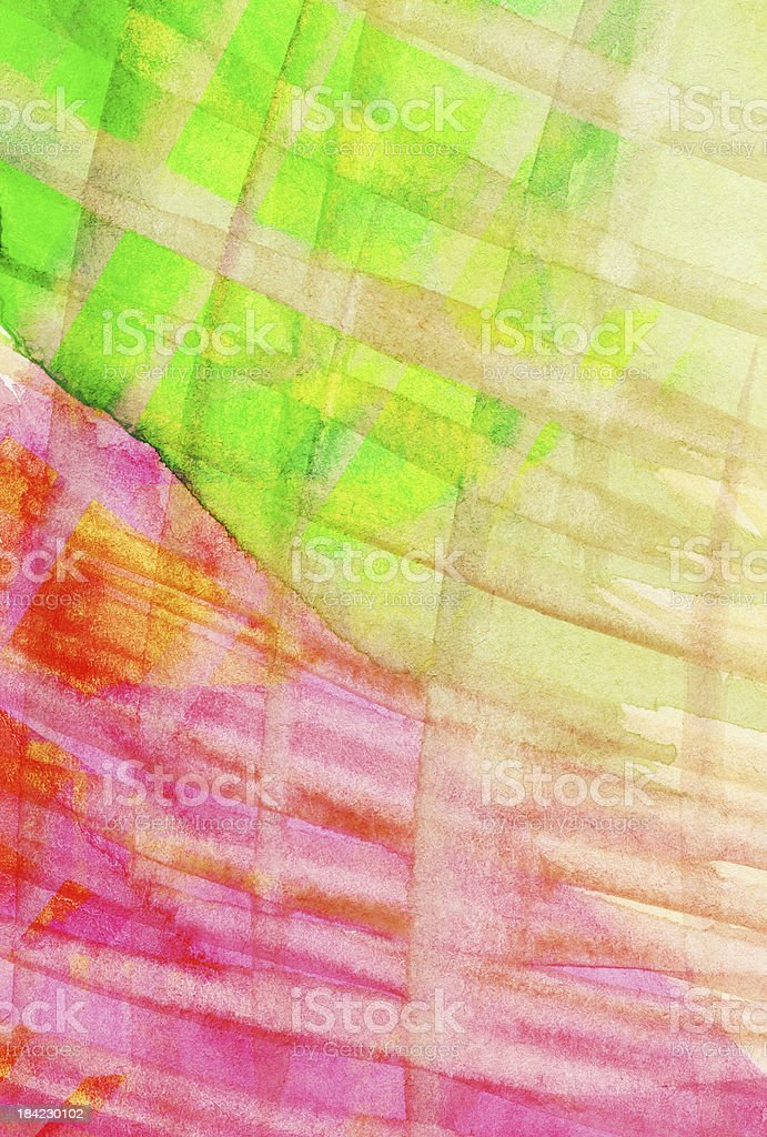 Abstract watercolor background with strip royalty-free stock photo
