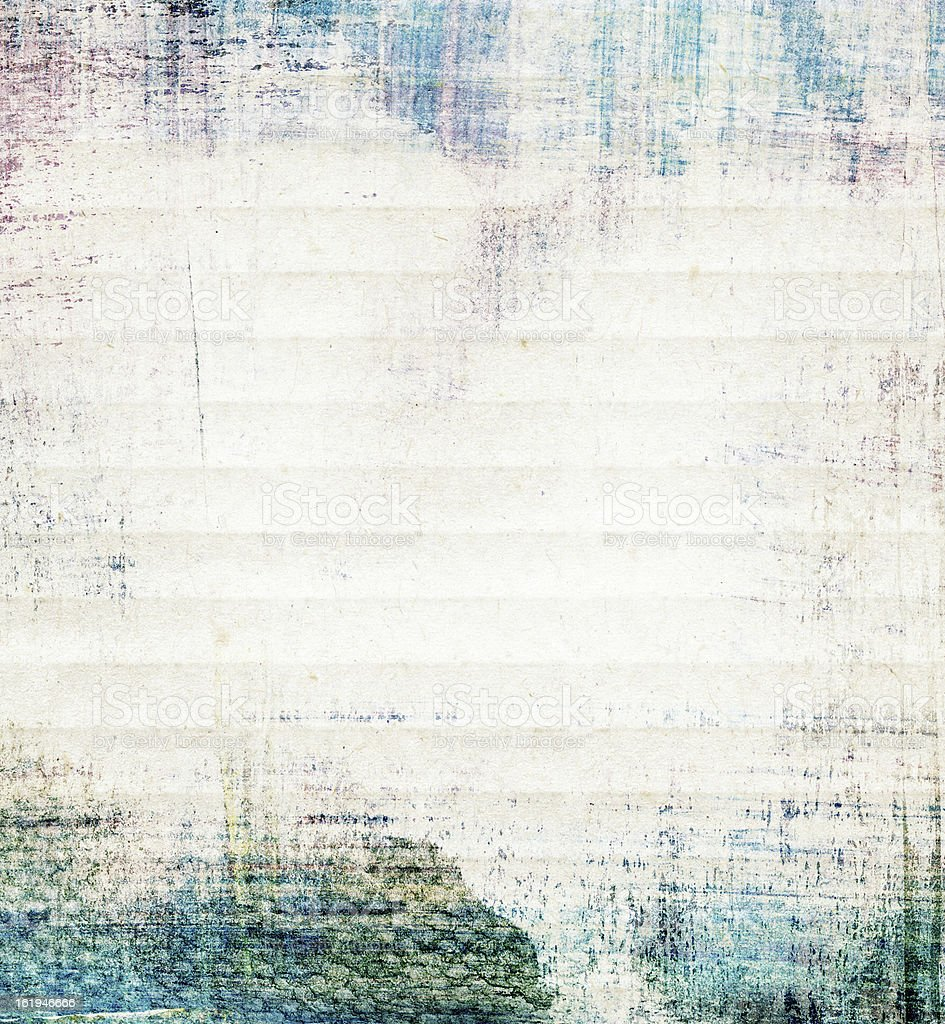 Abstract watercolor collage paper texture royalty-free stock photo