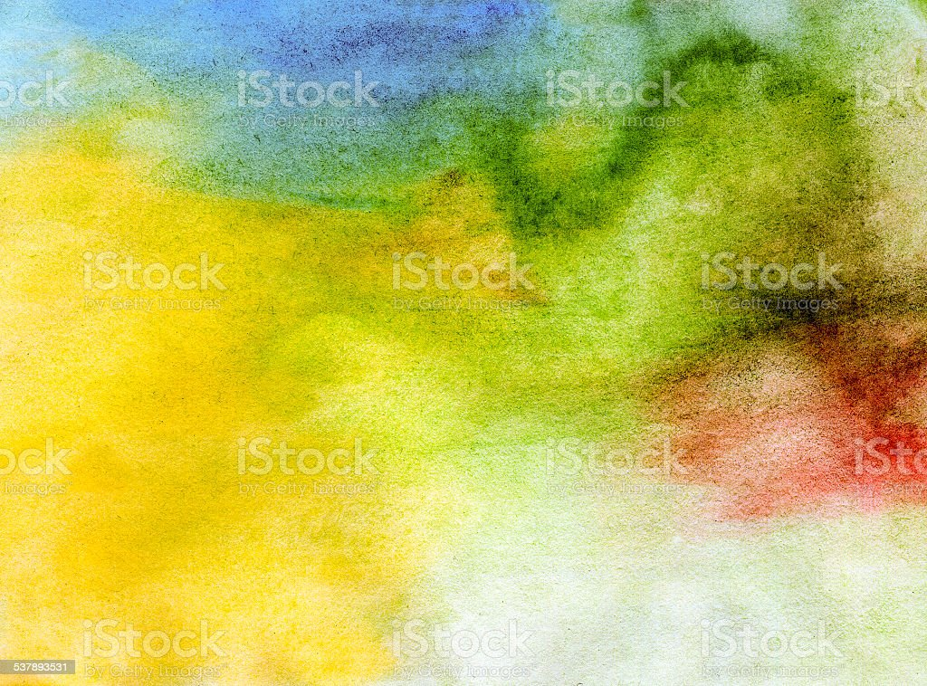 Abstract watercolor light painted background stock photo