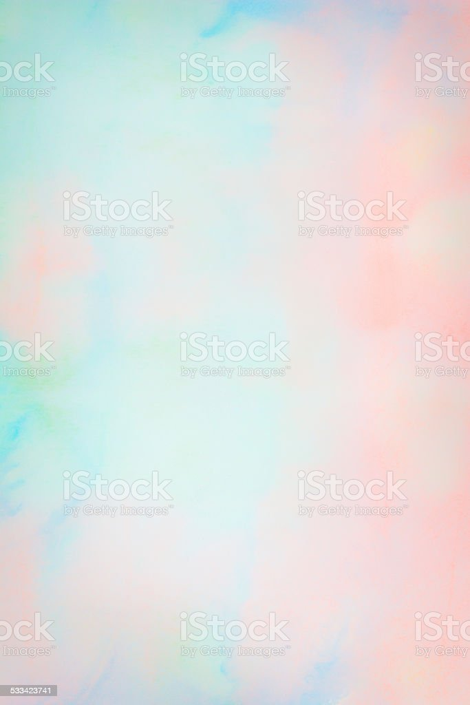 Abstract watercolor on paper stock photo