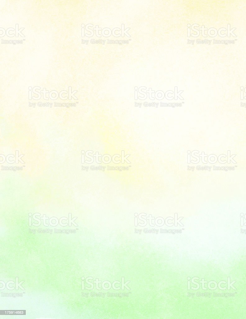 Abstract watercolor sun and sunlight. Spring, summer background. royalty-free stock photo