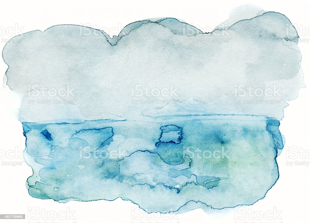 Abstract watercolor texture stock photo