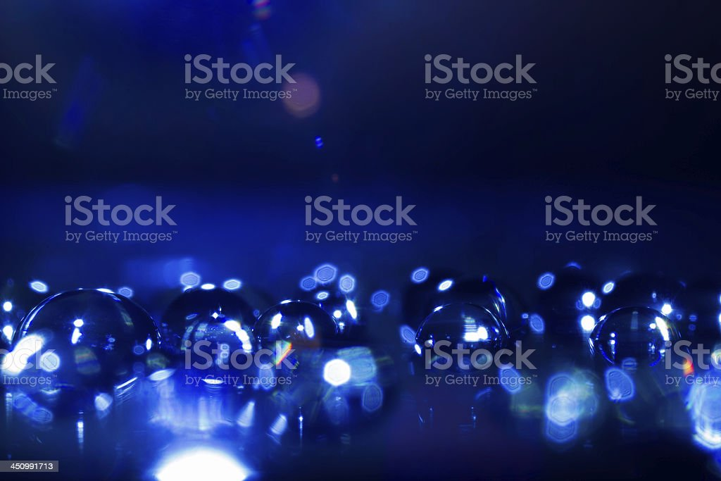 Abstract Waterdrops Closeup Background royalty-free stock photo