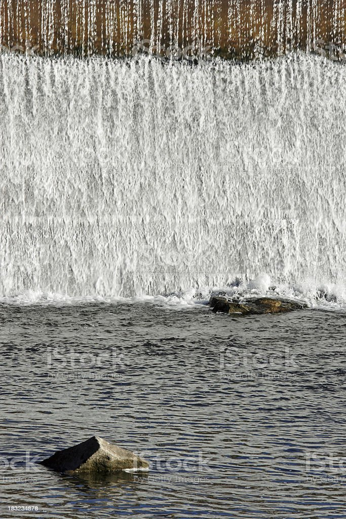Abstract Waterfall royalty-free stock photo