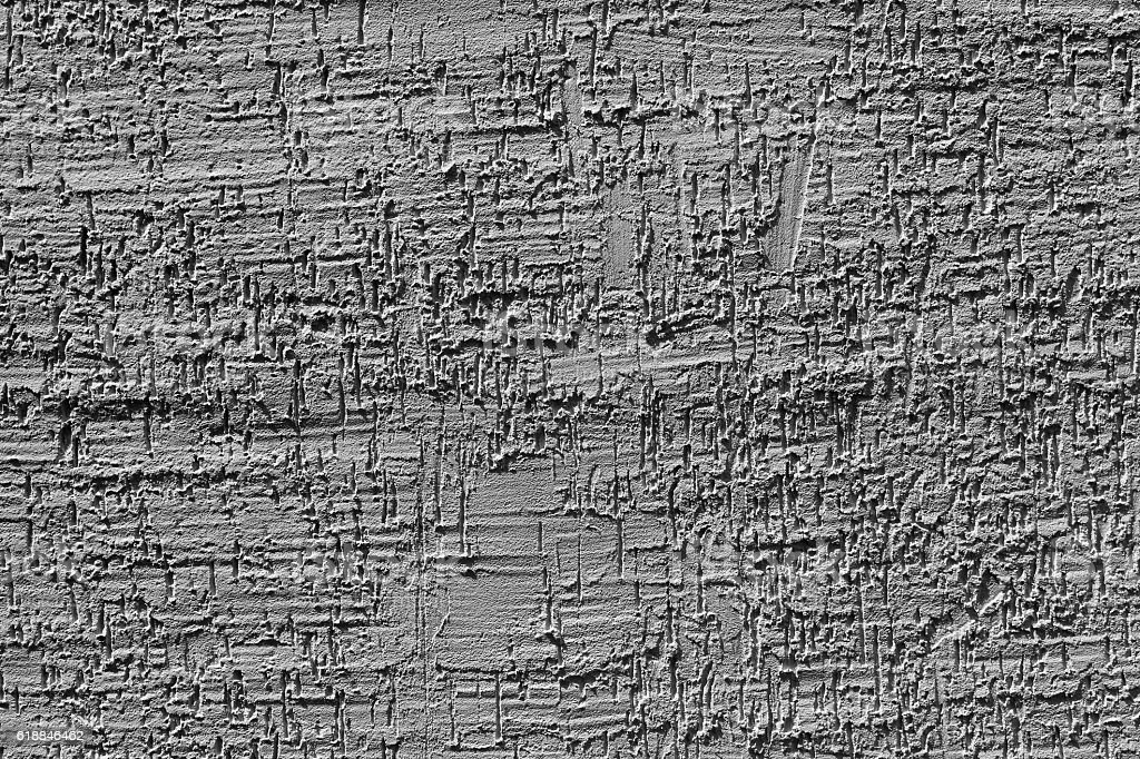 Abstract weathered texture light gray stucco and aged wall stock photo