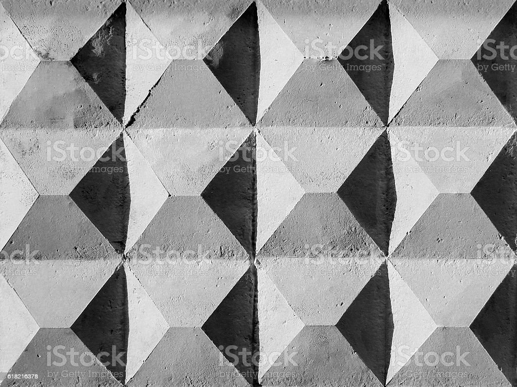 Abstract weathered texture stained old flaking stucco light gray stock photo