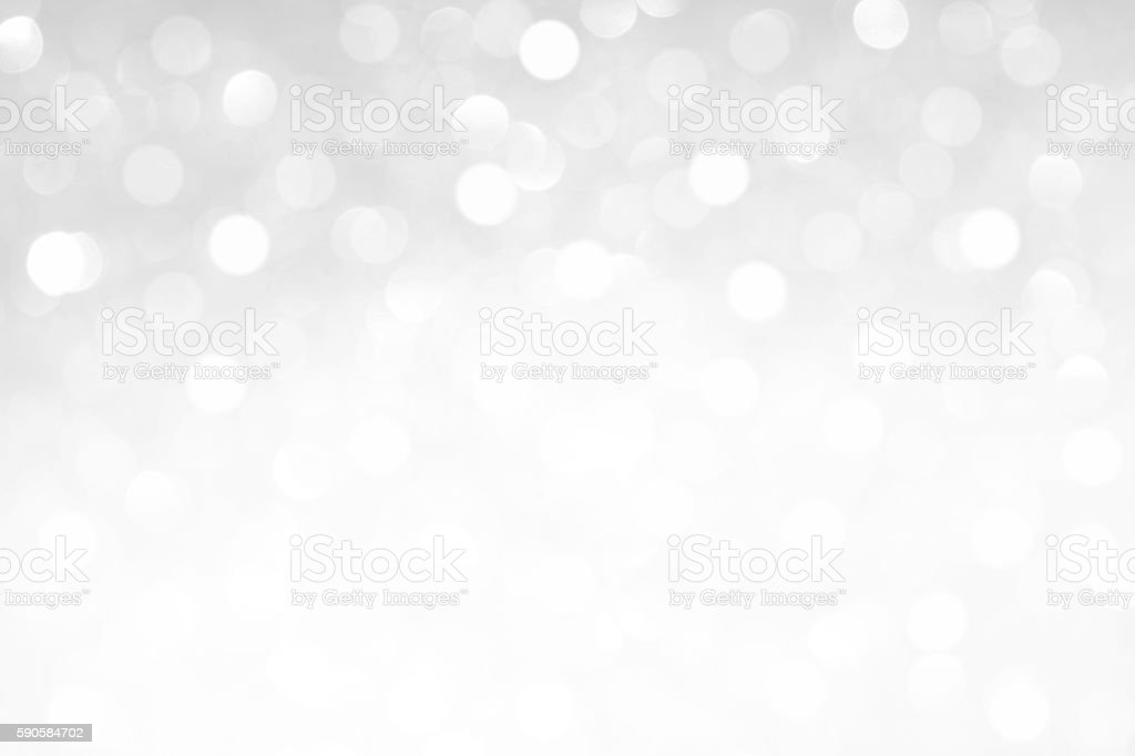 Abstract White Glitter Background stock photo