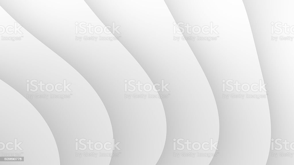Abstract white waves background stock photo