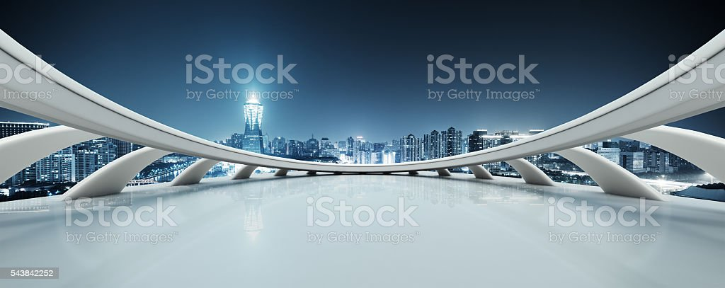 abstract window with modern buildings in hangzhou west lake cult stock photo