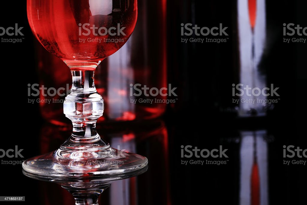 Abstract Wine Tasting royalty-free stock photo